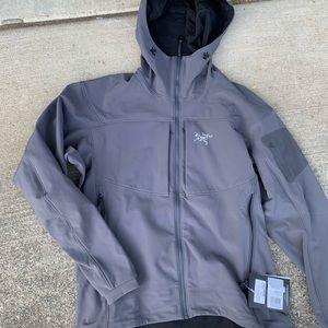 NWT Arcteryx gamma Mx hoodie jacket gray XL